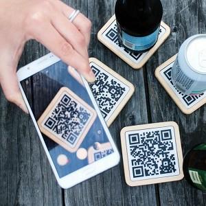Qr code scan with smartphones